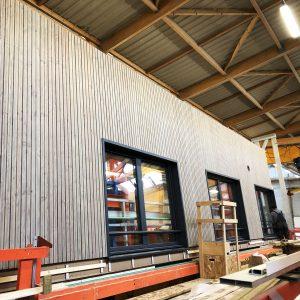 production murs a ossature bois
